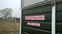 Wessex horse trailer servicing