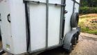 Bateson horse trailer new bearings fitted
