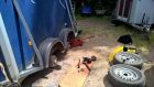 Cheval Horse trailer serviced